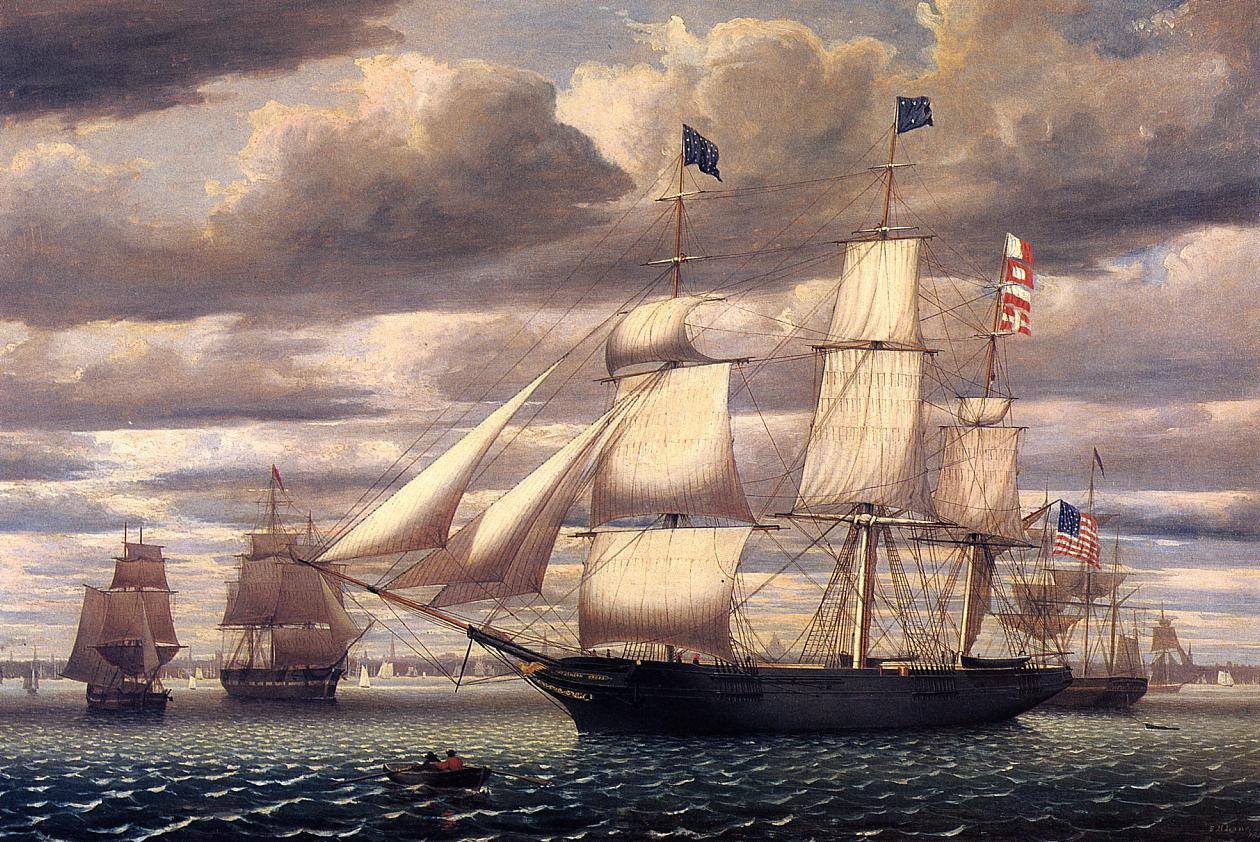 the clipper ships the synonymous of fast sailing in the 19th century The word clipper originates from fast and relatively small tea clippers used in the 19th century  clipper name the clipper name  sailing merchant ships.